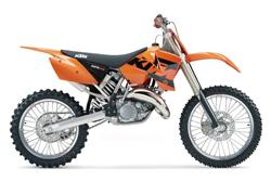 KTM 200 SX Parts