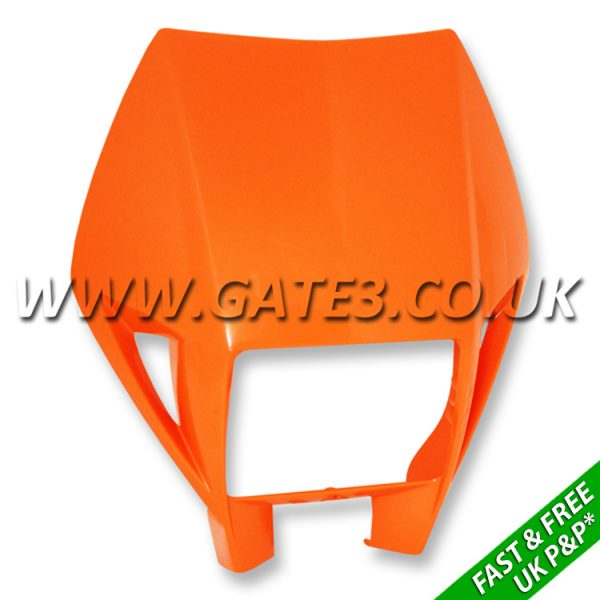 5030800100004-KTM-Orange-Headlight-Surround-fast-and-free