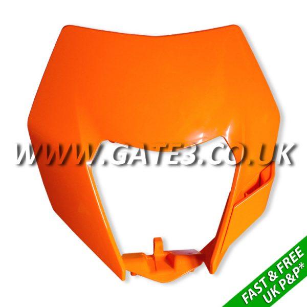 7810800100004-KTM-2014-Shape-Orange-Headlight-Mask-fast-and-free